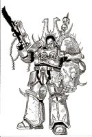 Champion Of Khorne by Gago-sama