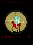 A Hunter's Life (titel card) by Robbedhondt