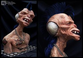 Buzzcock The Punk Alien by CB-FX