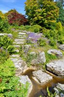 Rock Pool Steps by Forestina-Fotos
