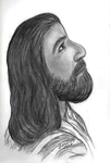 My drawing of jesus by GreatestArtistzero