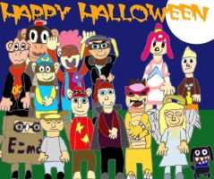 Jackit and Friends Halloween by JackitK