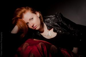 Redheaded Glamour by BrianMPhotography