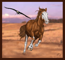 Wild Mustang by Axelya
