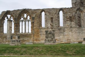 Whitby Abbey-3 stock by 6lell9-stock