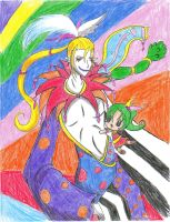 kefka again by puppetstringz
