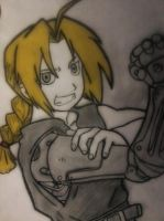 Edward Elric - Full Metal by tsu-neko-chan