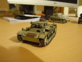Panzer III N by warrior1944