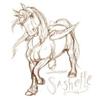 Sashelle -- another WIP by theclumsycorvid