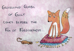 Fox of Forgiveness by delusional-dreams