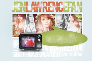 Jennifer Lawrence Layout by reemhearts