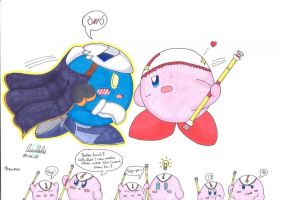Stop that crap, Kirby Dx by Lunulata