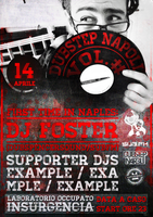 Dubstep Napoli Vol.# Concept MANIFESTO by APgraph