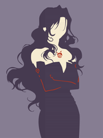 [Fullmetal Alchemist] Lust by Julie7770