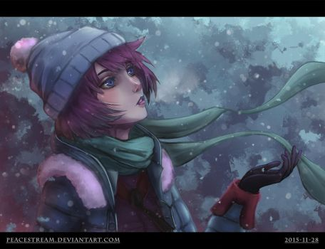 First snow by peacestream