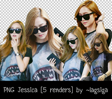 PNG Jessica [5 renders] by ~lagsiga by lagsiga