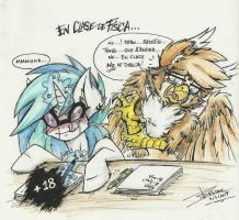 At phisics class... by Mimy92Sonadow