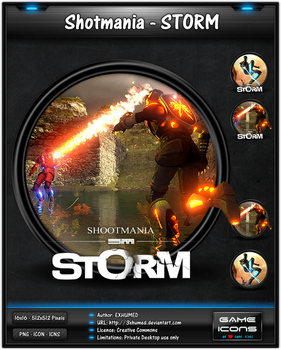 Shotmania Storm - Game Icon Pack by 3xhumed