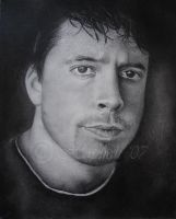 Dave Grohl by GreenFlutterby