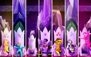 MLP - Princesses of friendship by seer45
