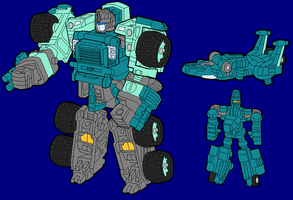 Kup - Robot Mode by AsswhompSupreme