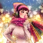 Winter Shopping by umigraphics