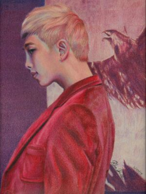 Rap Monster by Eternal--Art
