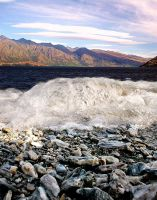 Wave at Wakatipu by BeauNestor
