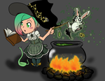 Witchsona Round 2 by Lefuulei-Art