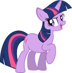 Twilight Sparkle vector 1: Oh yea! by Universe-of-Dusk