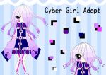 Auction Adopt: Cyber Girl {CLOSED} by Lidfox