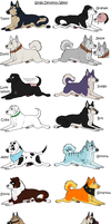 New Ginga OC list by GingaGirl86