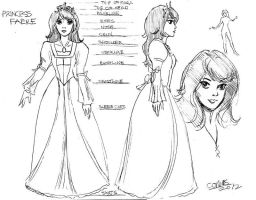 Princess Faere - Character Sheet by amberchrome