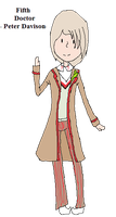 - AT - Fifth Doctor by xxHunneh