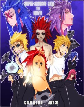 KH: super sausage axel by animegirl000