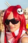 Yoko with sunglasses by Stenfire