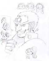 Ganondorf sketch by the-infamous-padfoot