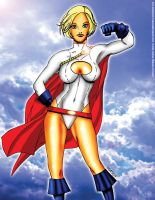 Power Girl by Alpha Comics by darkknightstrikes