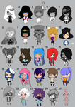 Set Chibi Offer 25% (OPEN 14/25) by MikaHK