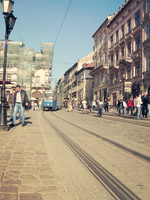 Lviv's Streetcar by MissFuturama