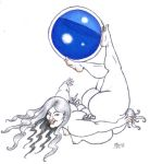Merry Goddess of the Blue Orb by LimeGreenSquid