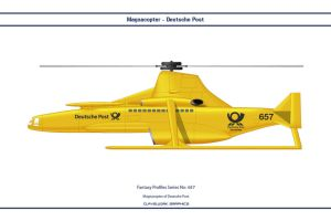 Fantasy 657 Magnacopter Deutsche Post by WS-Clave