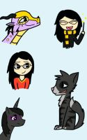 Me in various forms by TheFancyMango