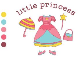 My Little Princess - free vector by meeeanne