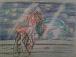 .:GIFT:.*~Galaxy and Earth~* by Jessicathehedgehog55