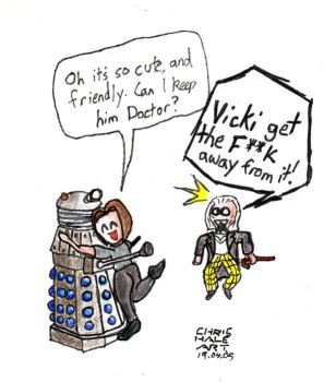 This one looks quite friendly by Dalek-Club