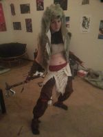 Connor Kenway TOKWdlc cosplay WIP by Adnarimification