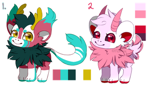 Adoptables #2 [auction -- closed] by Fluffily