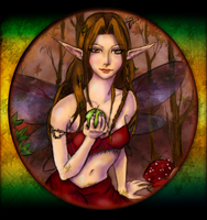 Autumn faerie completed by soulofsorrow