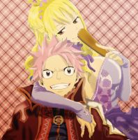 Natsu and Lucy by RoysRoys